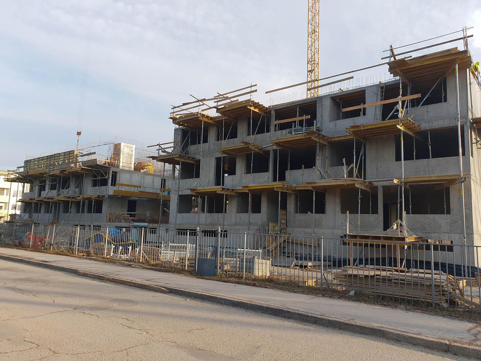 Novostavba bytových domov Lomnická ulica